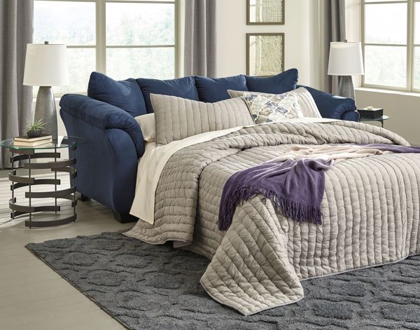 Picture of Darcy - Blue Sleeper Sofa