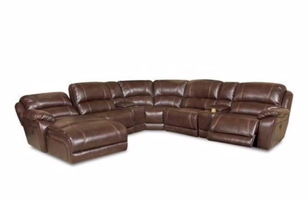 Picture of Faulkner - Chocolate RAF Sectional