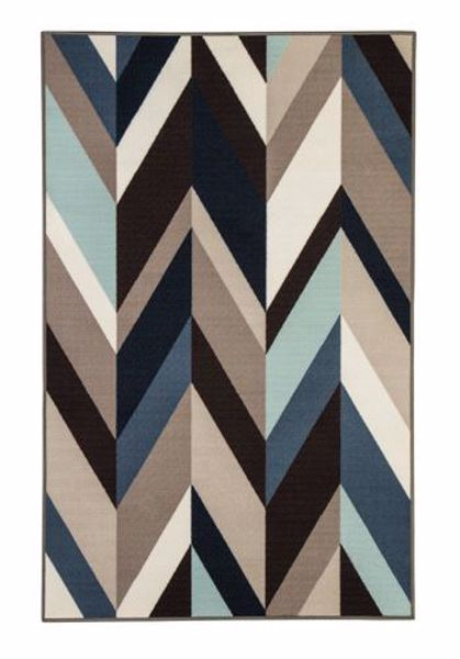 Picture of Keelia - Blue/Blk/Gray 4x7 Rug