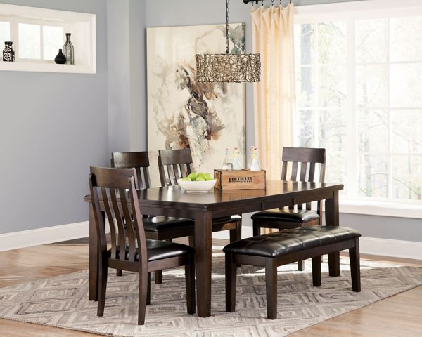 Picture of Haddigan - Table with 4 Chairs & Bench