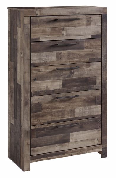 Picture of Derekson - Mulit Gray 5 Drawer Chest
