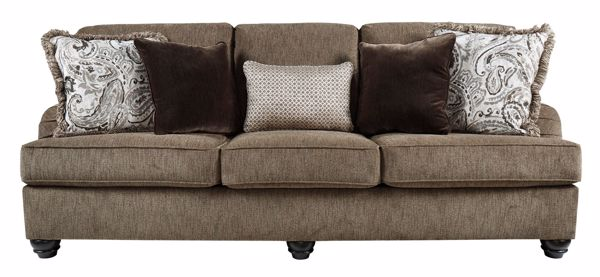 Picture of Braemar - Brown Sofa