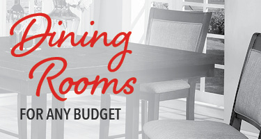 Dining rooms for any budget