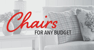 Living room chairs for any budget