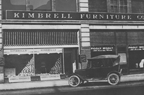 Kimbrell's Store Front 1924