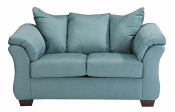 Picture of Darcy - Sky Loveseat