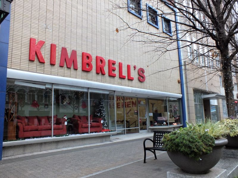 Entrance to Kimbrells in Raleigh, NC Fayetteville St
