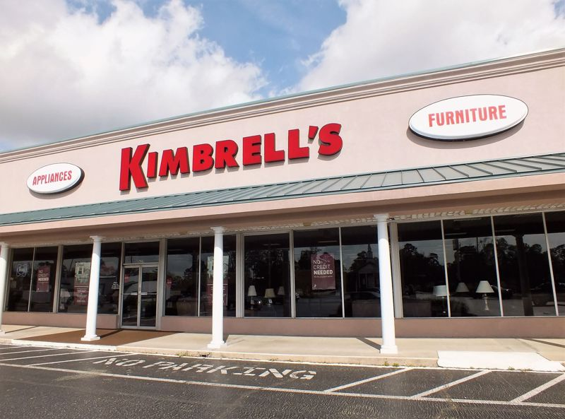 Entrance to Kimbrells in Florence, SC