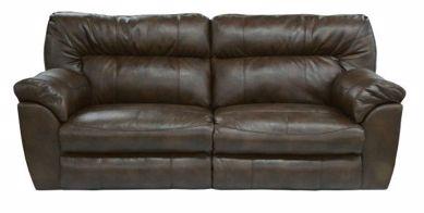 Picture of Nolan - Godiva Reclining Sofa