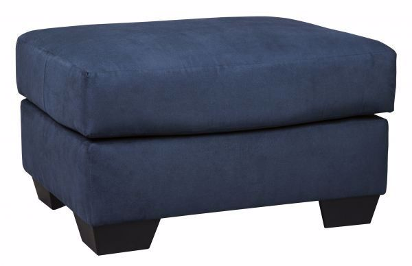 Picture of Darcy - Blue Ottoman