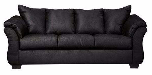 Picture of Darcy - Black Sofa