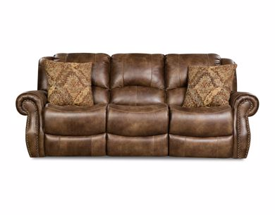 Picture of Waylon - Mocha Reclining Sofa
