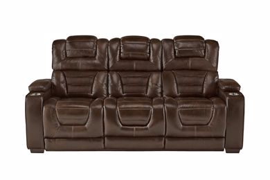 Picture of Transformer - Desert Chocolate Reclining Sofa