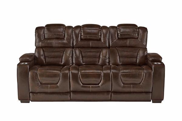 Picture of Transformer - Desert Chocolate Reclining Sofa