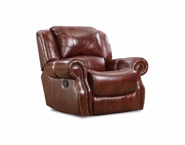 Picture of Softie - Oxblood Recliner