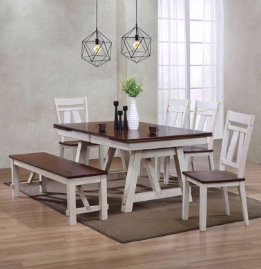 Picture of Winslow - Table with 4 Chairs & Bench
