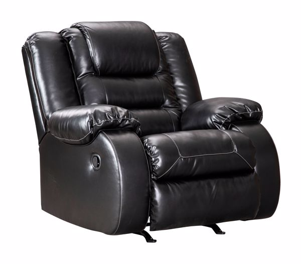 Picture of Vacherie - Black Recliner