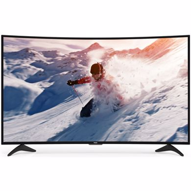 "Picture of 55"" 4K Curved TV"