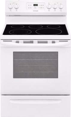 "Picture of 30"" White Range Smooth Element"