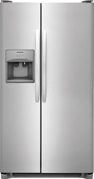 Picture of 23' Stainless SXS refrigerator