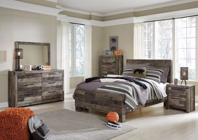 Picture of Derekson - Multi Gray Full Bed