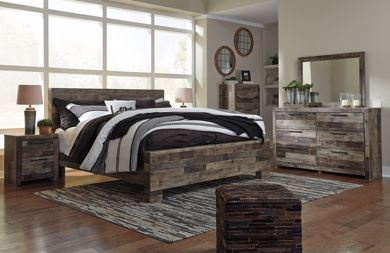 Picture of Derekson - Multi Gray King Bed
