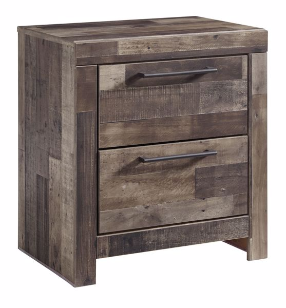 Picture of Derekson - Multi Gray Night Stand