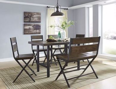 Picture of Kavara - Table W/4 & Double Bench