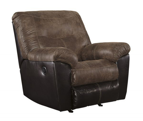 Picture of Follett - Coffee Rocker Recliner