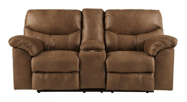 Picture of Boxberg - Bark Reclining Console Loveseat