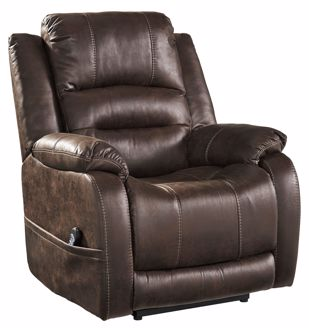 Picture of Barling - Walnut Power Recliner