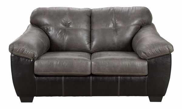Picture of Gregale - Slate Loveseat