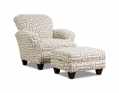 Picture of Totem - Oatmeal Accent Chair