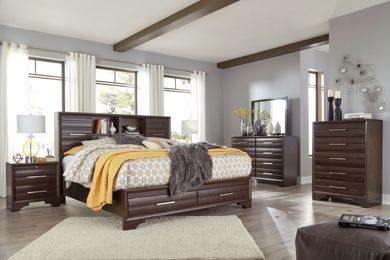 Picture of Andriel - Queen Storage Bed
