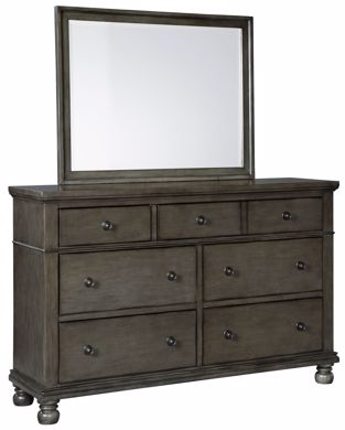 Picture of Devensted - Gray Dresser/Mirror