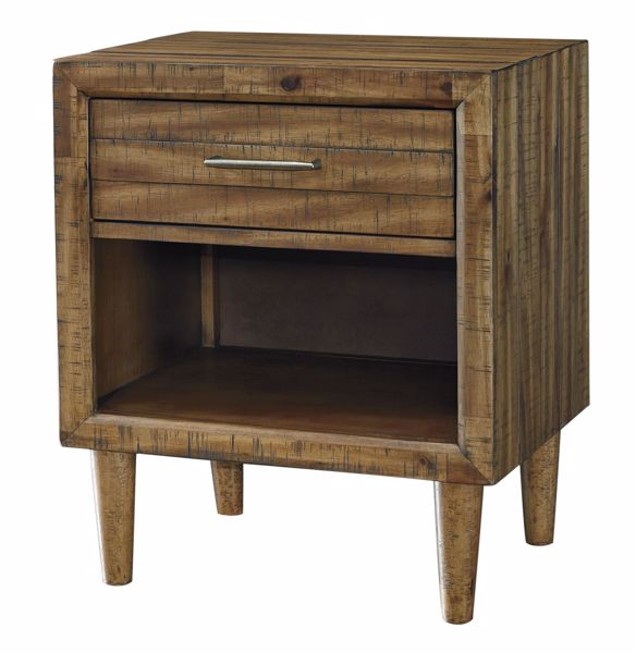 Picture of Broshtan - 1 Drawer Nightstand