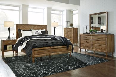 Picture of Broshtan - King Panel Bed