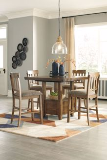 Picture of Flaybern - Counter Height Table with 4 Stools