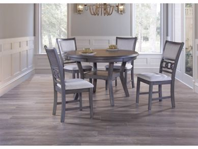 Picture of Gia - Gray Table & 4 Chairs