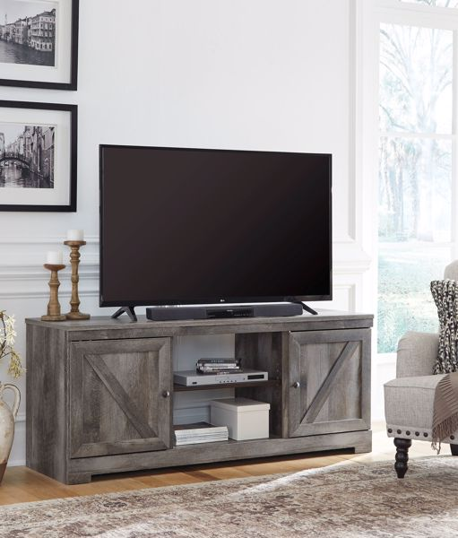 Picture of Wynnlow - Gray Large TV Stand