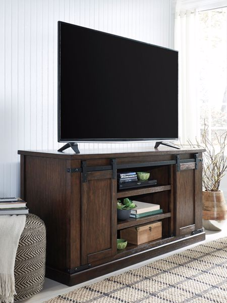Picture of Budmore - Brown Large TV Stand