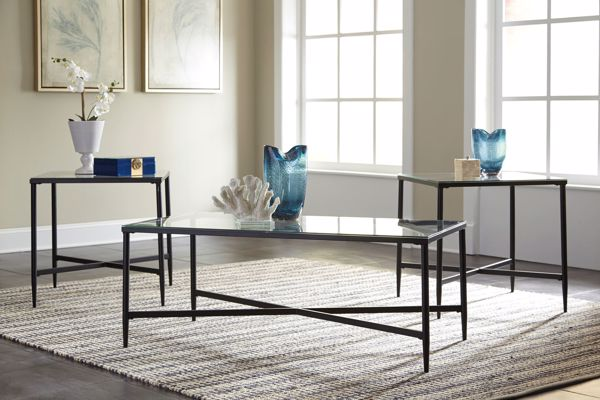 Picture of Augeron Black - 3pc Occasional Tables