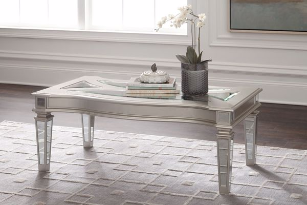 Picture of Tessani - Silver Cocktail Table
