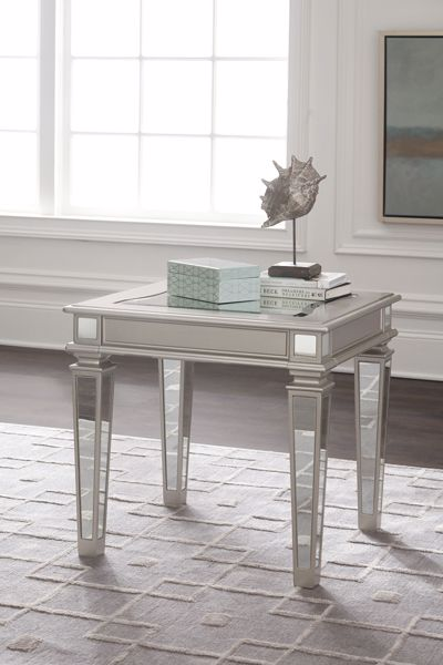 Picture of Tessani - Silver End Table