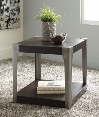 Picture of Geriville - Brown Square End Table