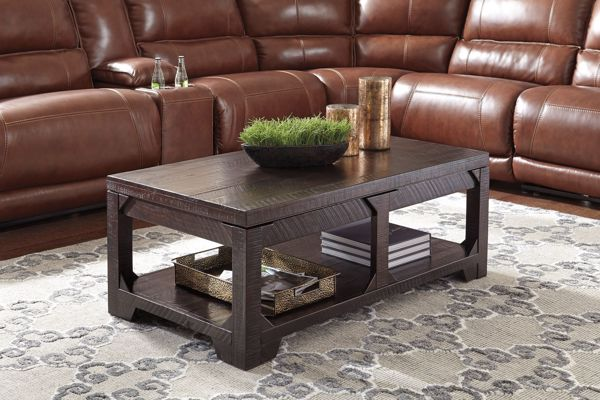 Picture of Rogness - Brown Lift Top Table