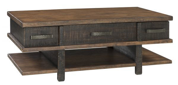 Picture of Stanah - Two-Tone Coffee Table with Lift Top
