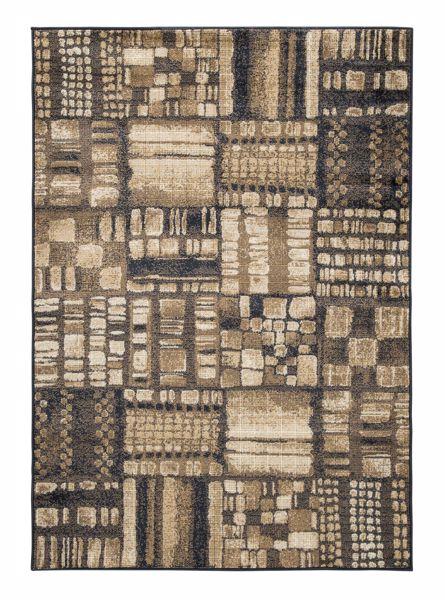 Picture of Hillard - Black/Brown 8x10 Rug