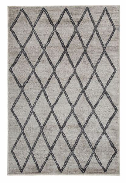 Picture of Jarmo - Gray/White 5x7 Rug