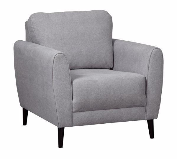 Picture of Cardello - Pewter Accent Chair